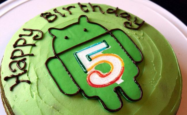 Android mbush 5 vjet!