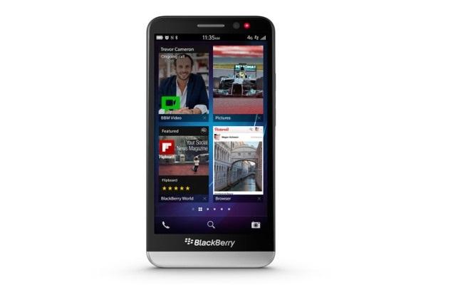 Lansohet BlackBerry Z30