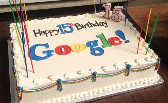 Google mbush 15 vjet!