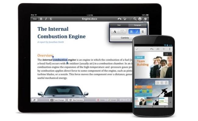 Quickoffice nga tani pa pagesë për platformat iOS dhe Android