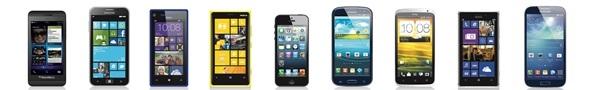 Smartphonet krahasime