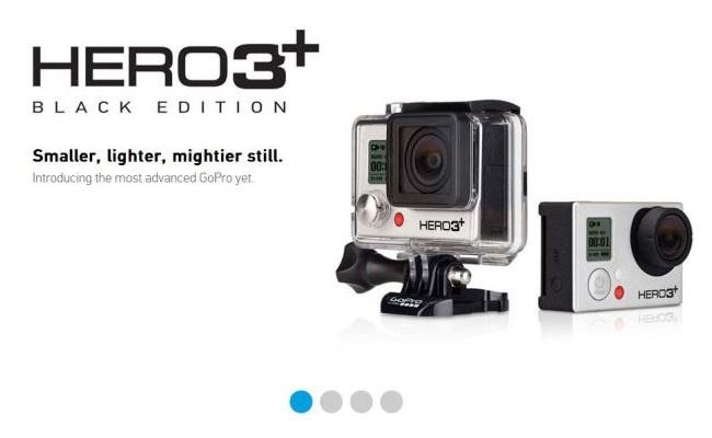 GoPro lanson modelin e ri të kamerës Hero 3+