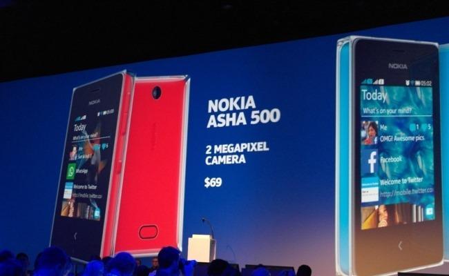 Nokia prezanton smartphone të ri, Asha 500, 502, dhe 503