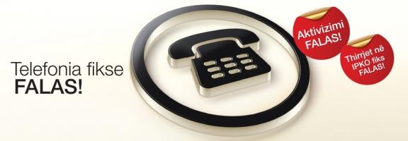 IPKO - Telefonia Fikse Falas