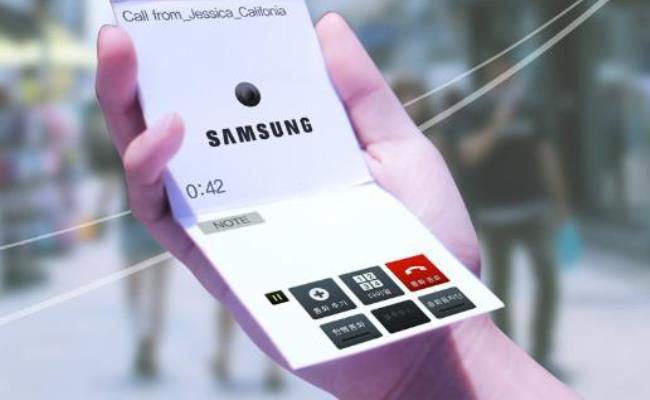 Samsung publikon një koncept të një smartphone-i fleksibil