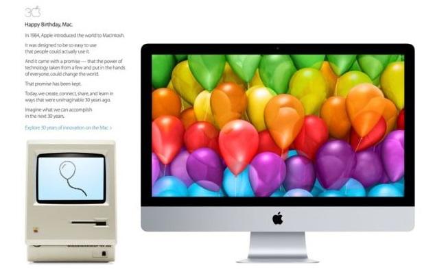 Apple Mac mbush 30 vjet