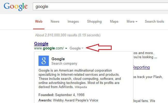 Google Search funksjoni