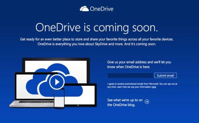 Microsoft SkyDrive nga tani e tutje quhet OneDrive