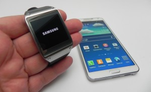Galaxy Gear and Galaxy Note