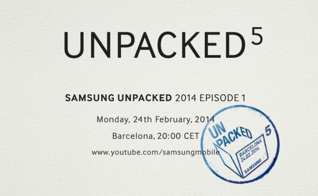 "Drejtpërdrejt: Samsung MWC 2014 ""Unpacked 5"""