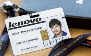 Ashton Kutcher and Lenovo