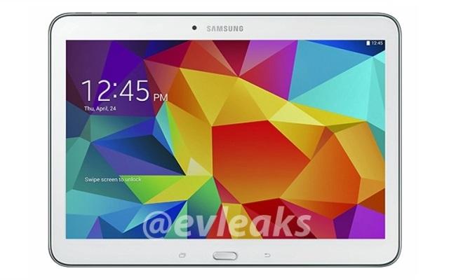 @Evelaks shfaq pamjet e tabletit Samsung Galaxy Tab 4 (10.1)
