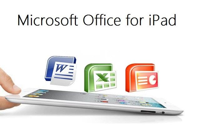 Microsoft Office për iPad nga 27 Marsi