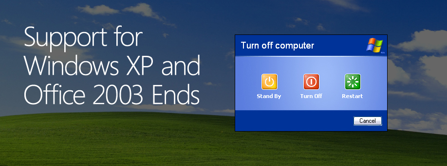 The End of the Road for Windows XP, Office 2003, IE8