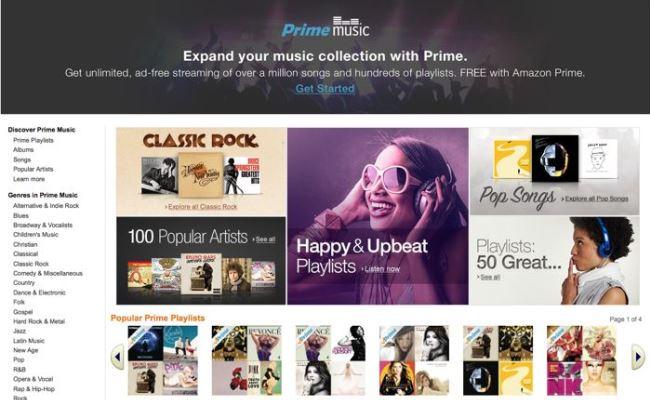 Amazon Prime Music 1