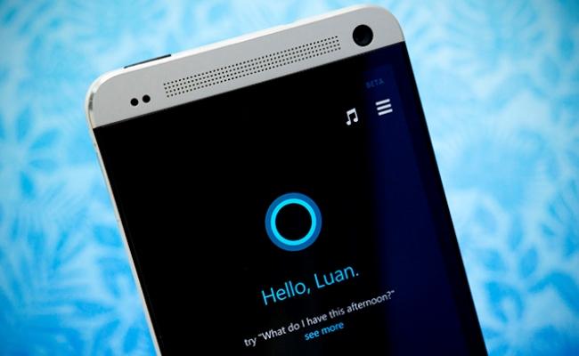 Cortana në iOS dhe Android