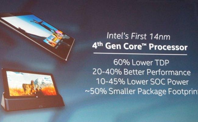 Intel lançon procesorët Core M