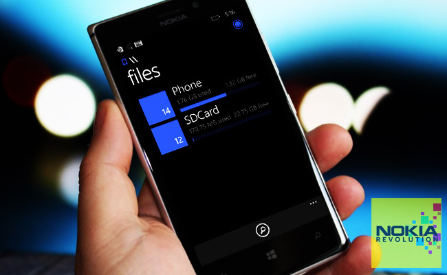 Windows Phone me aplikacionin zyrtar për menaxhimin e dokumenteve