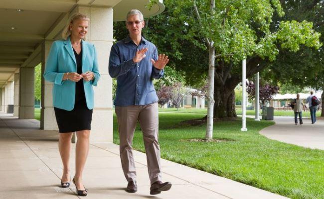 Apple dhe IBM me bashkëpunim të ndërsjellët
