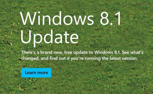 Përditësimi i dytë për Windows 8.1 pritet të vij së shpejti