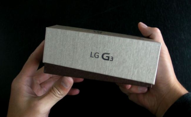 Video shpaketim: LG G3
