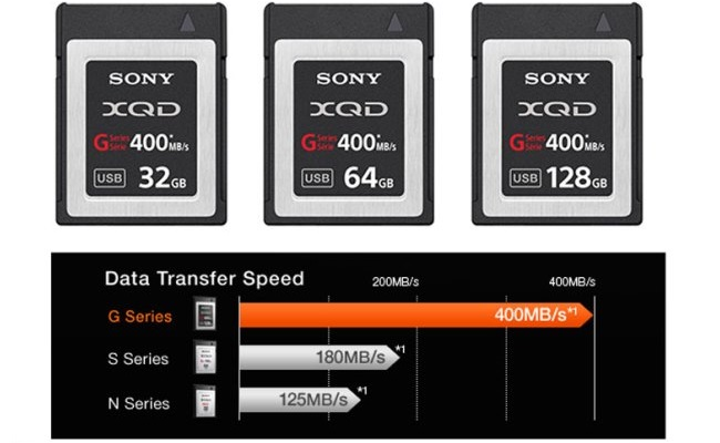 Sony G Series XQD