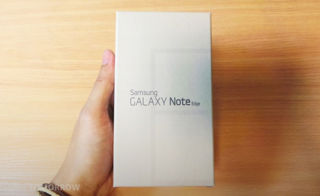 Shpaketimi i Galaxy Note Edge nga Samsung (Video)