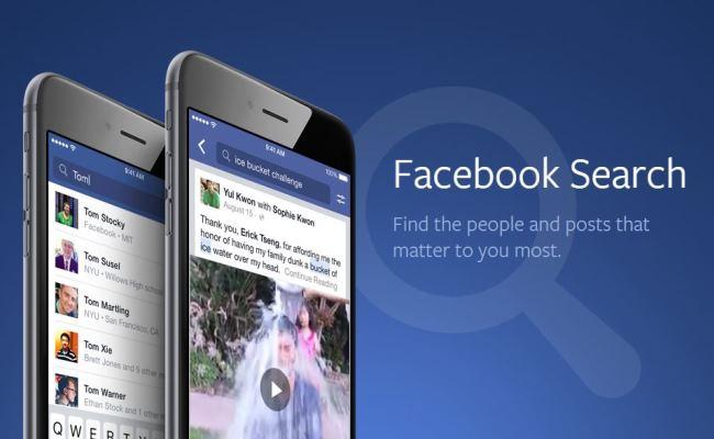 Facebook Search tani gjen edhe postimet e vjetra