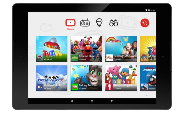 "Google lanson aplikacionin ""YouTube for Kids"""