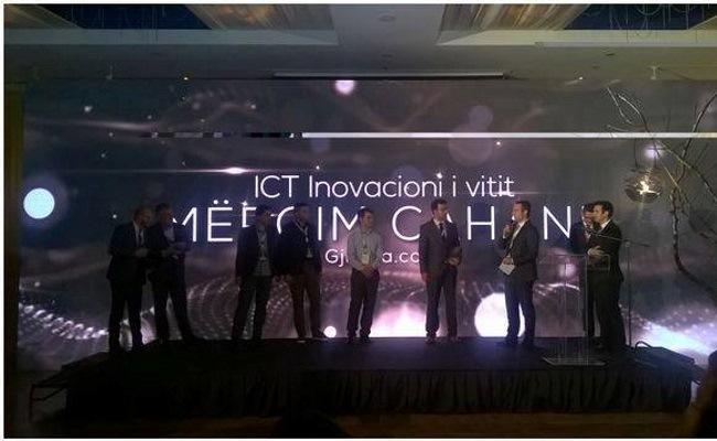 Gjirafa.com fiton çmimin ICT Inovacioni i Vitit