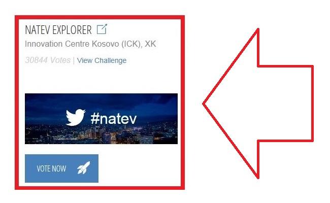 Si të votohet në garën e NASA-s për ekipin nga Kosova #Natev?