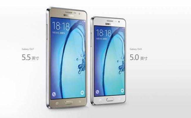 Samsung Galaxy On5 and Samsung Galaxy On7
