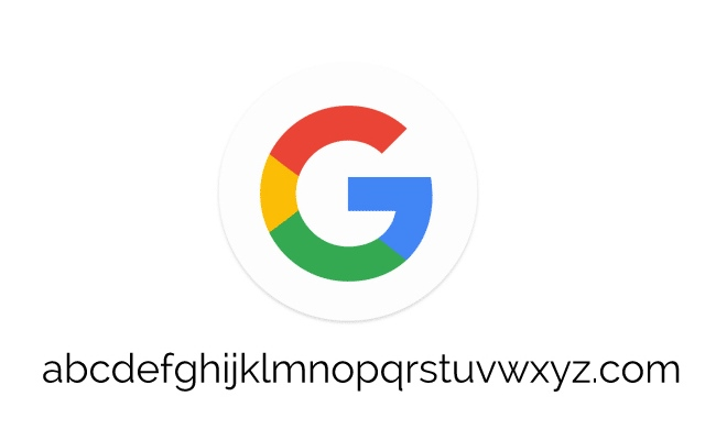 Google blen abcdefghijklmnopqrstuvwxyz.com