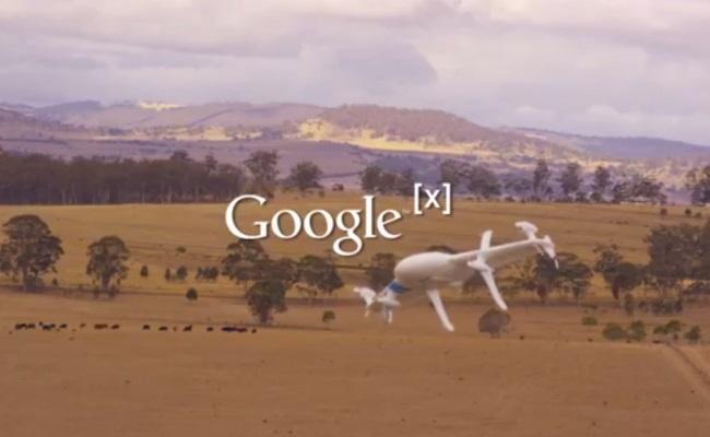 Google synon të fillojë dërgimin e porosive me Drone