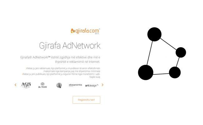 """Gjirafa prezanton shërbimin e ri për reklamim online """"AdNetwork"""""""
