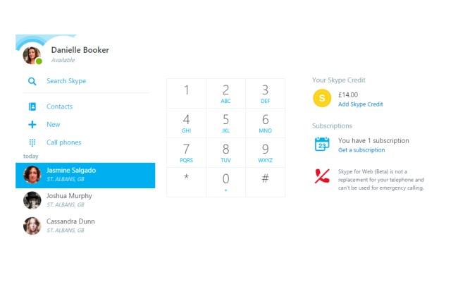 Nga Skype për Ueb tani mund të bëni thirrje direkt në smartphone