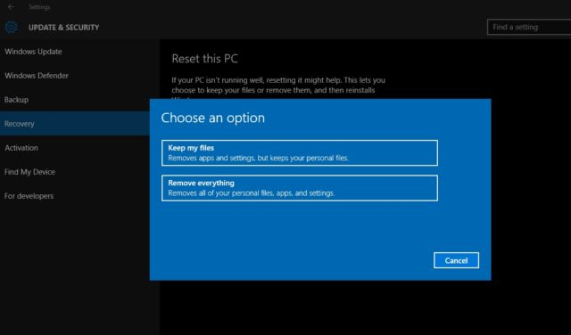 Windows-10-Reset