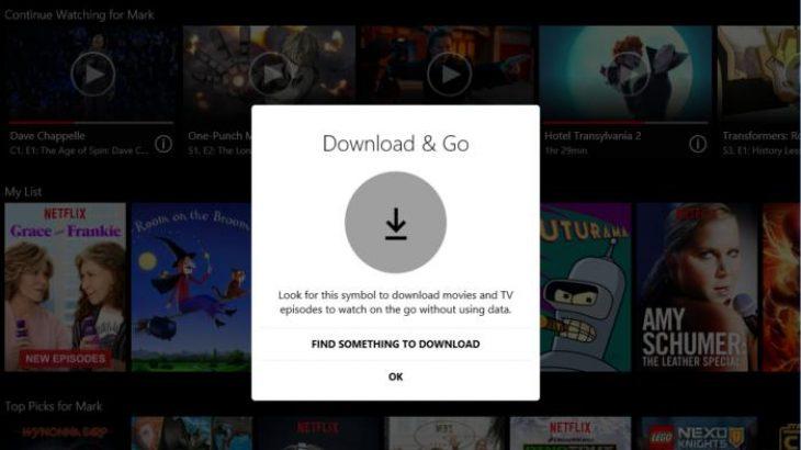 Netflix sjell transmetimet offline në aplikacionin e Windows 10-ës