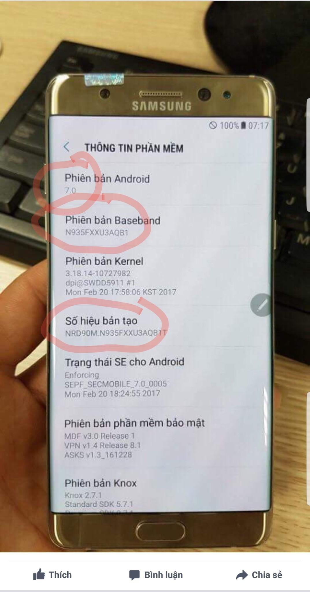 Samsung vendos të rikthen Note 7 Përsëri.